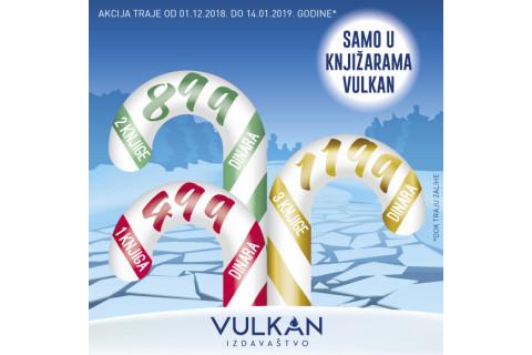 Novogodišnja akcija 1 za 499, 2 za 899 i 3 za 1199 dinara