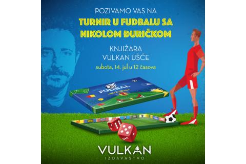 Turnir u fudbalu sa Nikolom Đuričkom - Vulkan Ušće