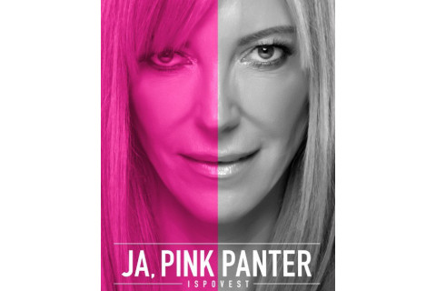 Potpisivanje knjige ja Pink Panter