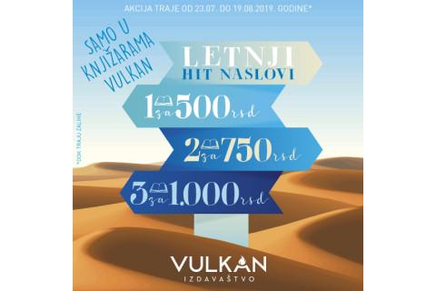 Letnji hit naslovi - 1 za 500, 2 za 750, 3 za 1000 dinara