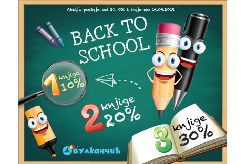 Back to school - dečje knjige na sniženju