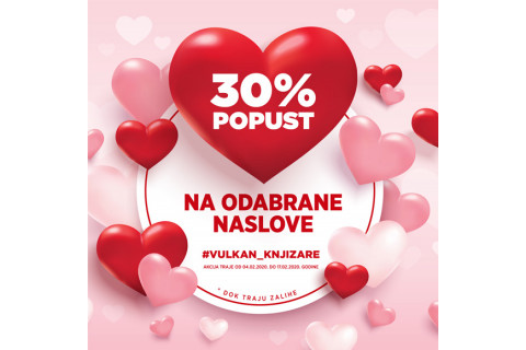 Specijalni popust za Dan zaljubljenih