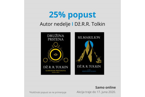 AUTOR NEDELJE - Dž. R. R. Tolkin