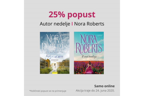 Autorka nedelje - Nora Roberts