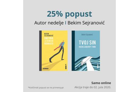 Autor nedelje - Bekim Sejranović