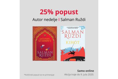 AUTOR NEDELJE - SALMAN RUŽDI