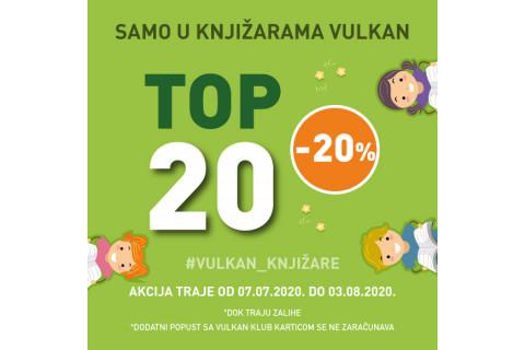 Top 20 knjiga za decu - popust 20%