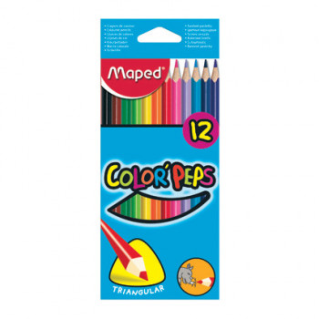 MAPED BOJICE COLOR PEPS 12