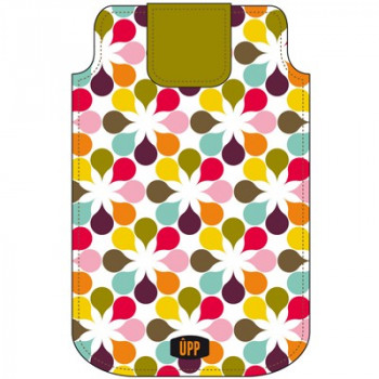 PHONE POUCH GEOMETRIC REPEAT MULTI