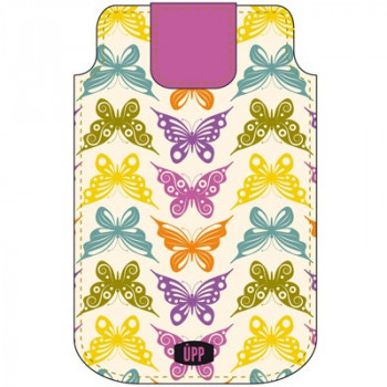 PHONE POUCH BUTTERFLIES REPEAT