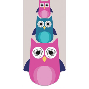 INT MAG BOOKMARKER OWLS