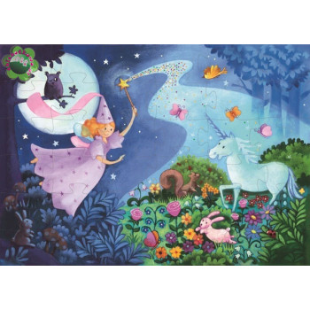 THE FAIRY AND THE UNICORN 36 PCS