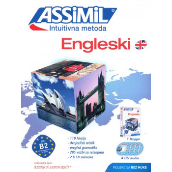 ASSIMIL INTUITIVNA METODA ENGLESKI B2 4 audio cd