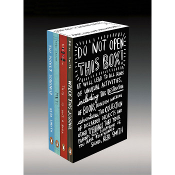 DO NOT OPEN THIS BOX Keri Smith Deluxe Boxed Set