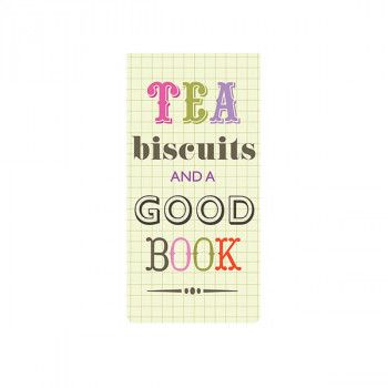 Bookmarker magnetni TEA, BISCUITS & GOOD BOOK
