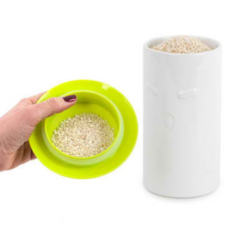 RICE CANISTER I LOVE RICE