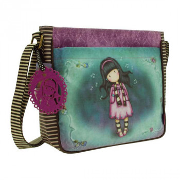 GORJUSS COATED CROSS BODY BAG LITTLE SONG