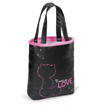HANDBAG SHOPPER LOVE 29X37X7CM
