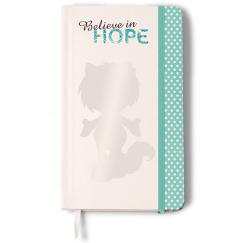 NOTEBOOK HOPE 12X21CM