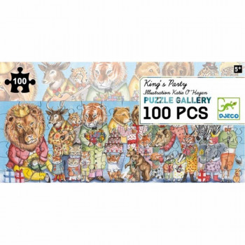 PUZZLE GALLERY KING PARTY 100 PCS