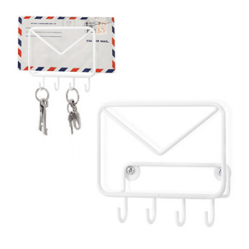 WALL HOOK AND ENVELOPE HOLDER MAIL