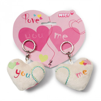 HEARTS 2D YOU AND ME 7CM