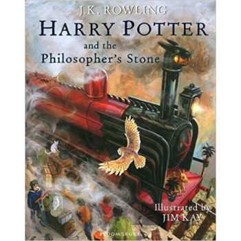 HARRY POTTER AND THE PHILOSOPHERS STONE ILLUSTRATED