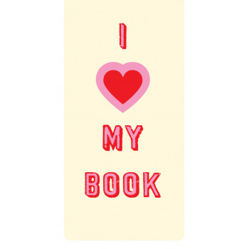 Magnetni bookmarker I HEART MY BOOK