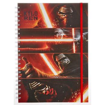 Notes A4 STAR WARS EPISODE VII Kylo Ren Panels