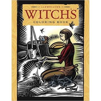 WITCHS COLORING BOOK