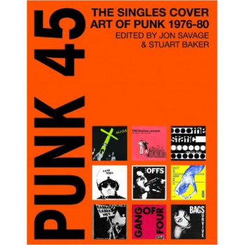PUNK 45 The Singles Cover Art of Punk