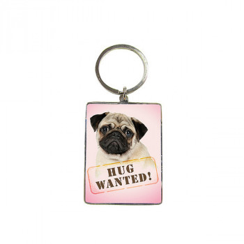 Privezak za ključeve INTERGRATED KEYRINGS HUG WANTED