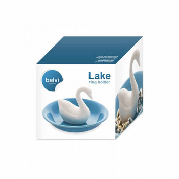 Stalak za Nakit LAKE WHITE BLUE CERAMIC
