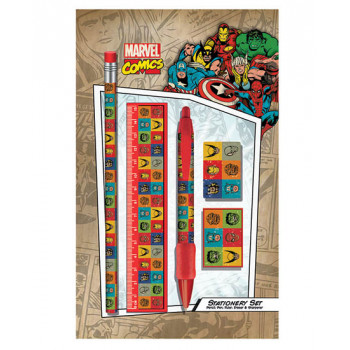MARVEL RETRO FACES Standard Stationery Set