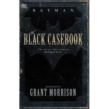 BATMAN BLACK CASEBOOK