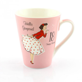 MRS SMITH 18TH BIRTHDAY MUG