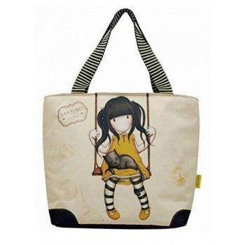 GORJUSS VACATION LUNCH BAG RUBY YELLOW