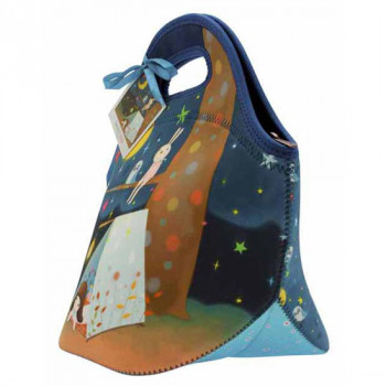 KORI KUMI NEOPRENE LUNCH BAG STARRY NIGHT