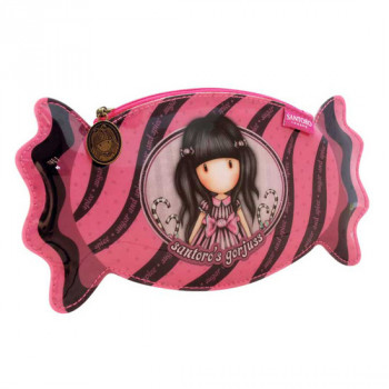 GORJUSS VACATION CANDY PENCIL CASE SUGAR AND SPICE
