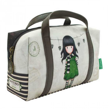 GORJUSS VACATION SUITCASE PENCIL CASE THE SCARF