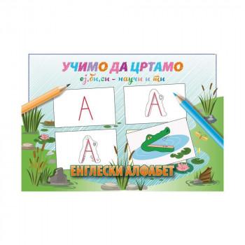 UČIMO DA CRTAMO ej bi si nauči i ti engleski alfabet