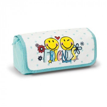 POUCH TO ROLL SMILEY FRIENDS PLUSH 19X7X7CM