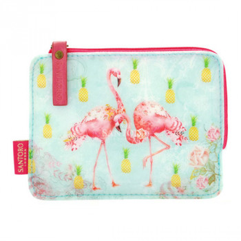Flamingos FLAT PURSE