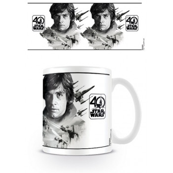 STAR WARS 40TH ANNIVERSARY LUKE SKYWALKER Coffee Mug