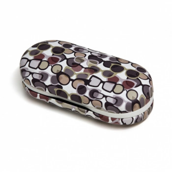 Etui EYEGLASSES  CONTACT LENS CASE TWIN WHITE