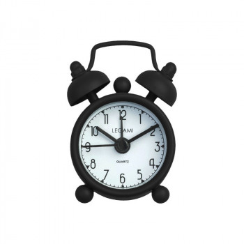 Budilnik MINI TICK TOCK ALARM CLOCK BLACK