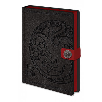 Notes Premium A5 GAME OF THRONES Targaryen