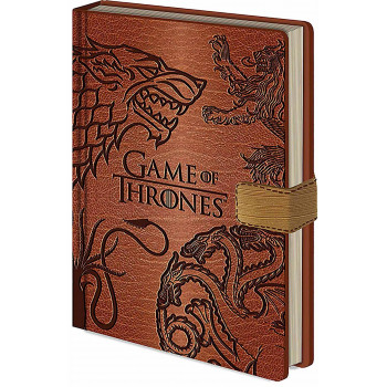 Notes Premium A5 GAME OF THRONES House Sigils