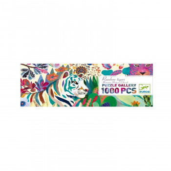 GALLERY PUZZLE RAINBOW TIGERS 1000 PCS