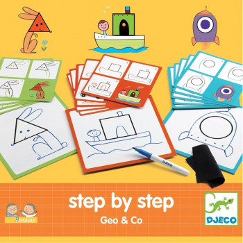 STEP BY STEP Kreativni set Geo & Co